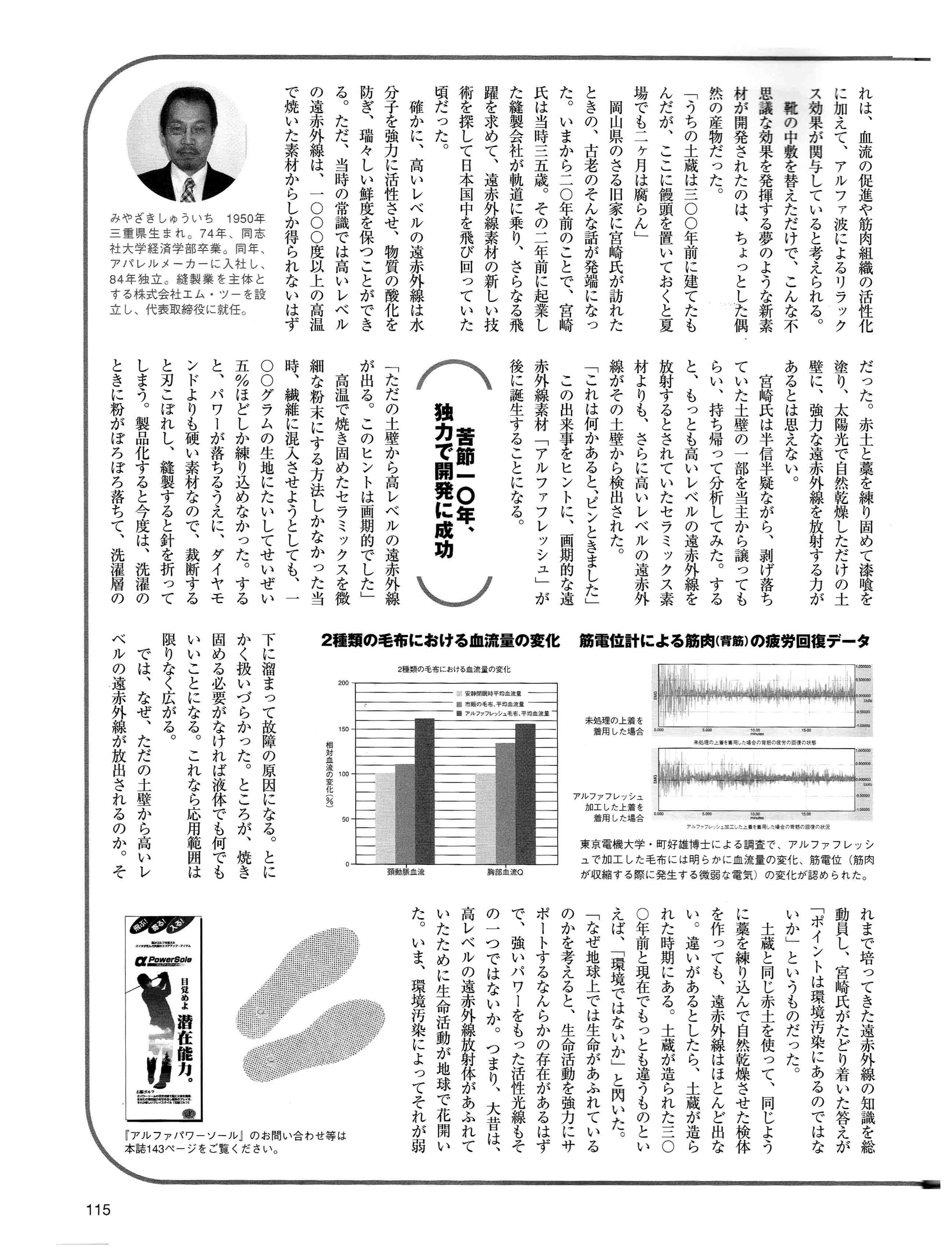 雑誌ON-2(アルファフレッシュ取材)